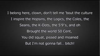 Eminem - Fall (Lyrics)