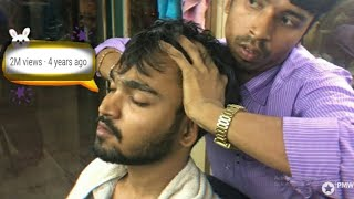 Best Indian Head Massage - Head, Scalp and Upper Body Massage by Sunil | Episode 1| ASMR