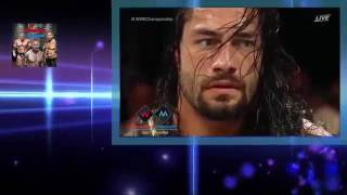 Roman Reigns Vs Aj Styles Crazy Match Ever in WWE Full Match