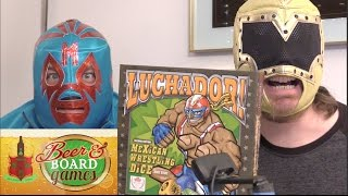 Luchador Mexican Wrestling Dice - Beer and Board Games