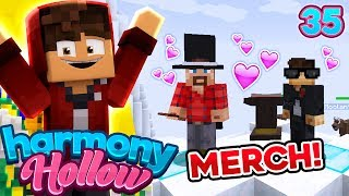 Minecraft: Harmony Hollow SMP! Ep. 35 - MARRIED! (+Merch)