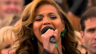 Beyonce Caught Lip Syncing 'Star Spangled Banner' lip synch