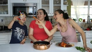 Chicken and Beans in Spicy Tomato Sauce - Heghineh Cooking Show