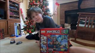 Eddie Christmas Present Lego Set Ronan Rex