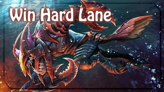 How to win a hard lane with Slark (Patch 7.06)