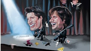 2CELLOS in Rome - Satisfaction and couple of bras