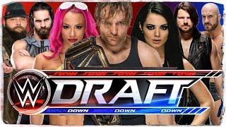 WWE Roster-Split/Draft 2016 - So würde ich RAW & SmackDown! besetzen (DEUTSCH/GERMAN)