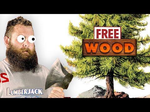 WE GOT WOOD - Professional Lumberjack 2015 Gameplay