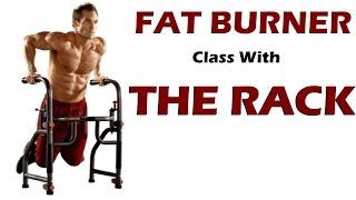 FAT BURNER W/ The Rack Workout Station