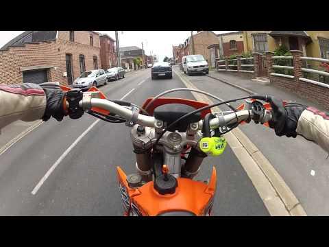 KTM 125 Exc SM GoPro Hero 2 HD