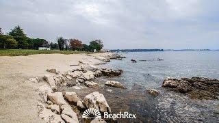 beach Materada, Poreč, Croatia