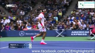 2015 US Open Men's Singles《Final》Roger Federer vs Novak Djokovic