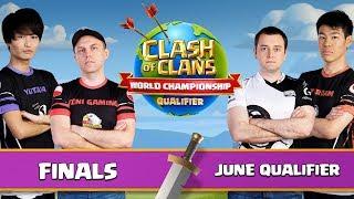 World Championship - June Qualifier - FINALS - Clash of Clans