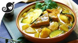 Braised Tofu Curry With Vegetables | Vegan/Vegetarian Recipe + Gluten-free