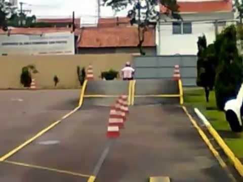 Exame moto Detran Parana CFC Melo
