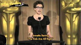 ANNETTE BENING - CHANGING HEARTS AND MINDS, ONE OSCAR NOMINATION AT A TIME