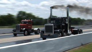 SEMI TRUCK DRAG RACING - NHRDA Tulsa