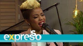 Zandie Khumalo performs 'Themba'