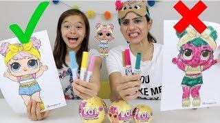 COLORINDO COM 3 CORES!!! ★ Edição LOL SURPRESA!!!! ★ (3 Marker Challenge!!!)