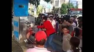 Detik-detik pelajar smp tewas kersetrum di Bali