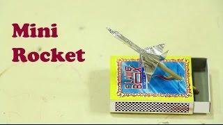 How to make mini rocket - HomeMade  Air soft Rocket Launcher