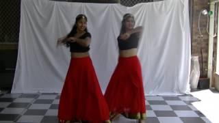 Manwa laage, Cham Cham dance ft. Manisha, Riya