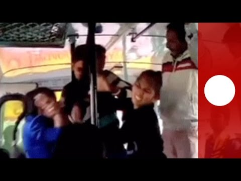 Xxx Mp4 2 Sisters Confront Gang On India Bus Following Alleged Harassment 3gp Sex