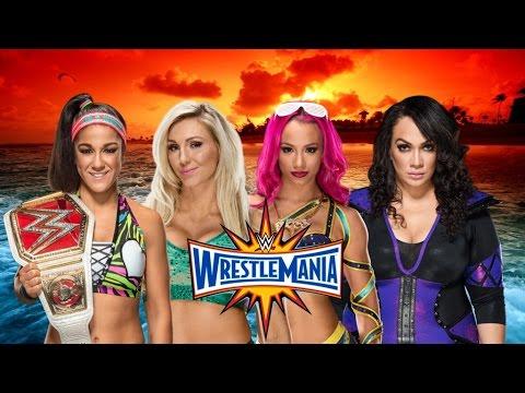 Xxx Mp4 WWE WrestleMania 33 Bayley Vs Charlotte Vs Sasha Banks Vs Nia Jax HD 3gp Sex