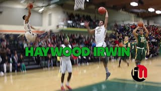 Haywood Irwin 6'3 SHIFTY Guard Who can SCORE c/o15