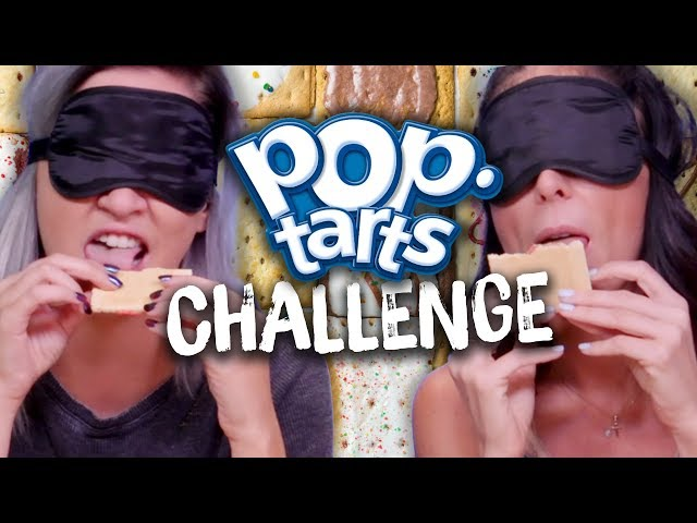 Blindfold Pop-Tart Challenge! (Cheat Day)
