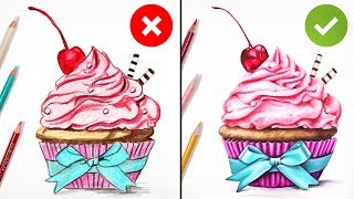 DO'S & DON'TS: How to Draw with Colored Pencils