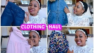 Toddler Winter Clothing Haul    Mommy and Baby Approved    South African Youtuber