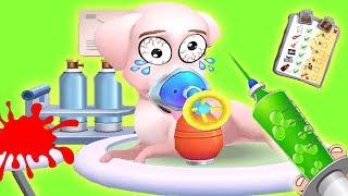 Mascotas en Peligro! - Salvando a los Animales en la Clinica Veterinaria - Divertido para Niños