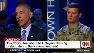 Obama Vs. Trump On NFL Player Protests