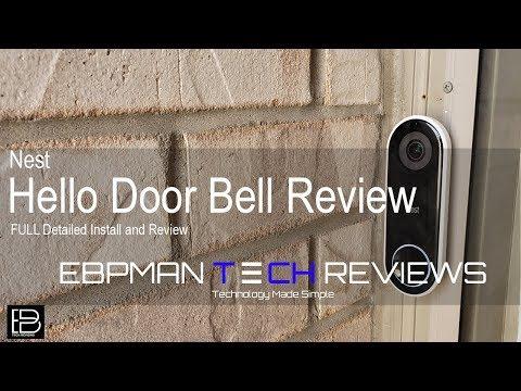 Xxx Mp4 NEW Nest Hello Smart Video Doorbell Detailed Installation Amp Review 3gp Sex