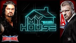 WWE wrestlemania 32 official theme song my house by:Flo rida