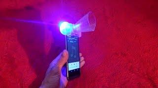 إصنع مضخم صوت للهاتف للإستماع  للمقاطع بصوت قوي جدا !!