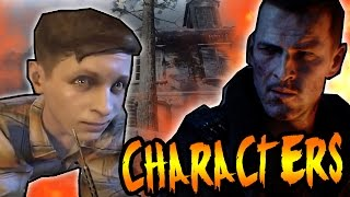 ZOMBIES CHARACTERS ARE CHILDREN! CREW SOULS IN REVELATIONS DLC 4! Black Ops 3 Zombies Storyline