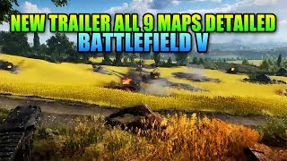 New Battlefield V Map Gameplay, Details, & Trailer
