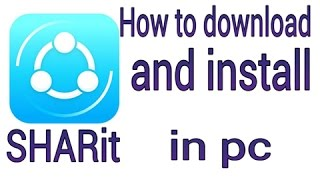 How To Download Shareit App On Pc