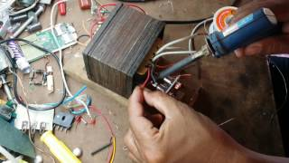 How to create simple battery charger circuit 12V 10A - Electronic Life Hacks