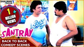 Santray Hyderabadi Movie || Mast Ali Back To Back Comedy Scenes || Mast Ali