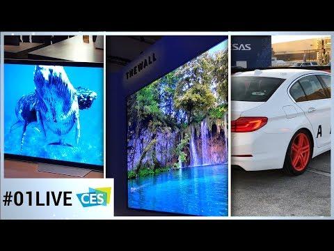 Xxx Mp4 CES 2018 01LIVE 1 Samsung Sony Voiture Autonome Les Grosses Nouveautés Depuis Las Vegas 3gp Sex