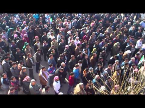 إدلب معرة مصرين جمعة الجامعة العربية تقتلنا 16 12 2011 ج5 engalep
