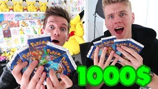 1000$ Pokemon Card Challenge *REMATCH*