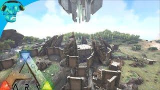 S1E8 Two Man Assault on the Green Kingdom! ARK: Survival Evolved PVP Season