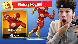 THE FLASH CHALLENGE in Fortnite Battle Royale (FAST)