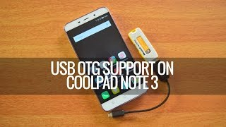 USB OTG Support on Coolpad Note 3