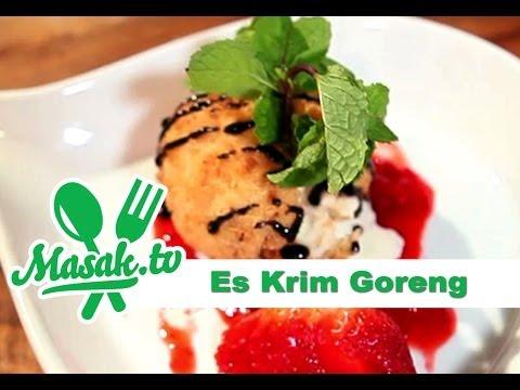 Es Krim Goreng - Fried Ice Cream | Resep #038