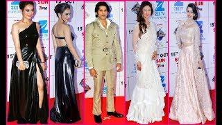 شاهدوا اطلالات تحبس الانفاس لنجوم ونجمات المسلسلات الهندية في هذا الحفل